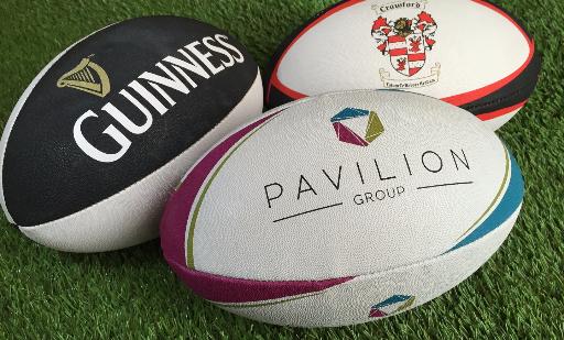 custom rugby balls
