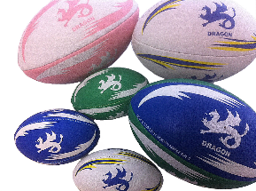 custom rugby balls dragon school