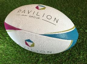 Pavilion custom rugby balls