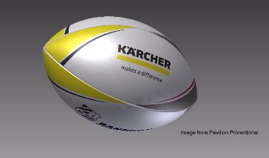 karcher rugby ball