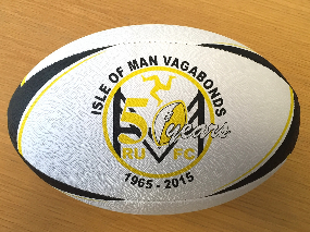 isle of man vagabonds rugby ball