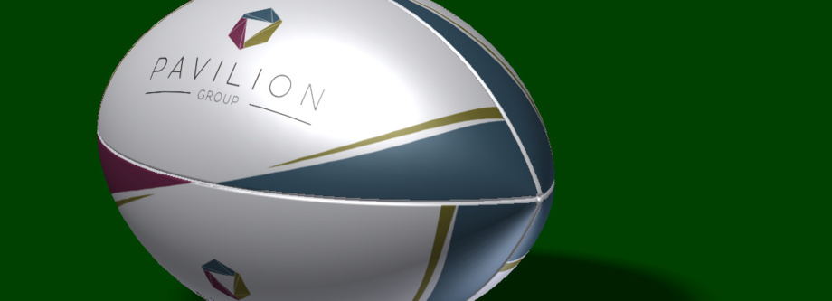 Pavilion Rugby Ball (3D Model)